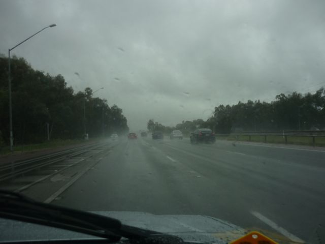 It does rain sometimes