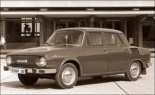 skoda 1970 100
